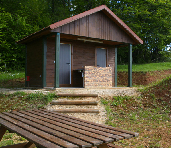 cabines sanitaires pour campings