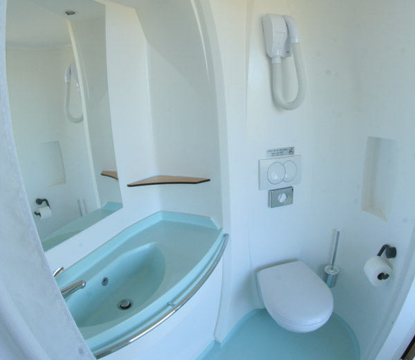Cabine sanitaire for Cabine wc exterieur